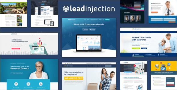 Leadinjection Landing Page Wordpress Theme