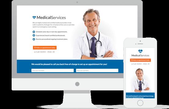 Medical Landing Page Demo