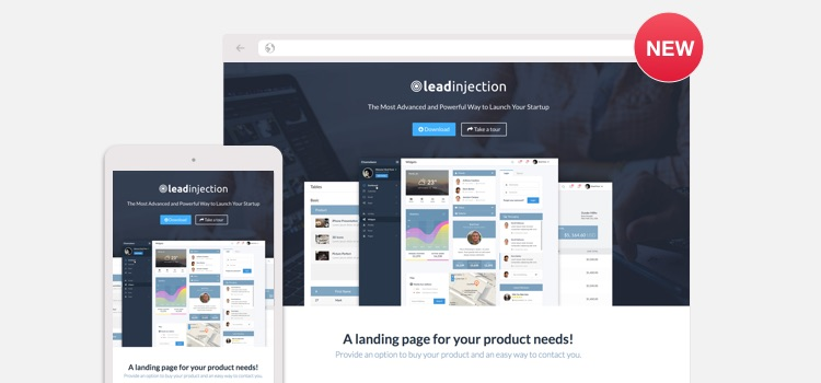 Application Landing Page Wordpress