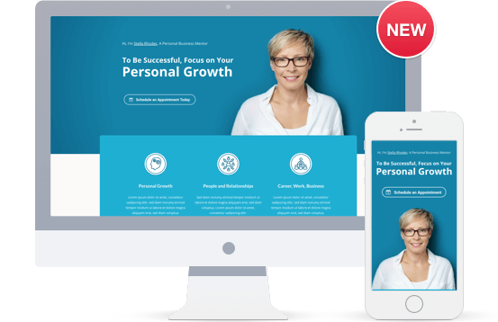 Business Coach Landing Page