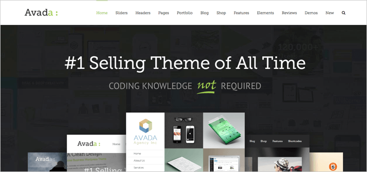 Avada WordPress Theme