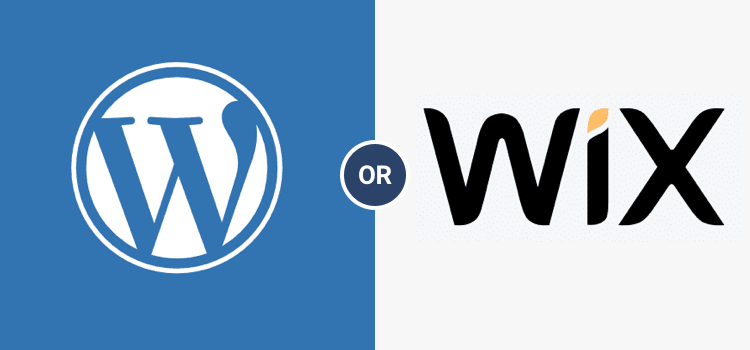 Wordpress or WIX CMS